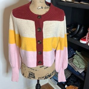 NWOT Wild Fable cropped sweater, size large
